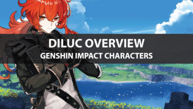 Photo of Statistiques de Genshin Impact Diluc, mise à niveau des talents et guide d'ascension