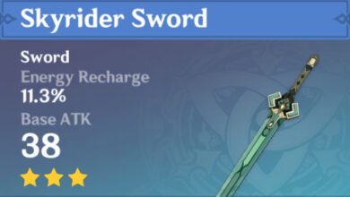 Photo of Skyrider Sword