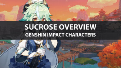 Photo of Statistiques de Genshin Impact Sucrose, mise à niveau des talents et guide d'ascension