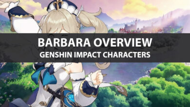 Photo of Genshin Impact Barbara Stats, Talent Upgrade, And Ascension Guide
