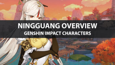 Photo of Statistiques de Genshin Impact Ningguang, mise à niveau des talents et guide d'ascension