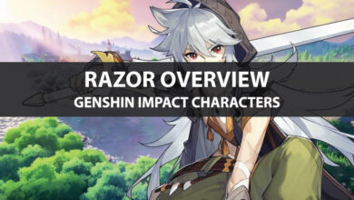 Photo of Statistiques de Genshin Impact Razor, mise à niveau des talents et guide d'ascension