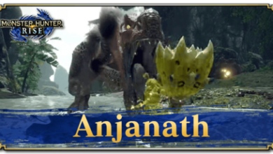 Photo of Anjanath – statistiques | Monster Hunter Rise | MHR (MHRise)