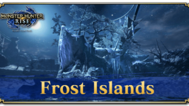 Photo of Îles Frost | Monster Hunter Rise | MHR (MHRise)