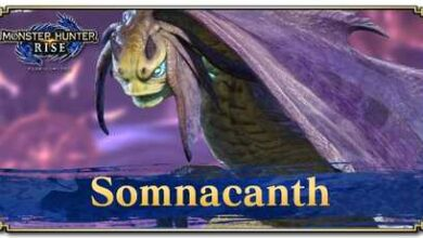 Photo of Somnacanth – Informations de base et ensembles d'armures | Monster Hunter Rise | MHR (MHRise)